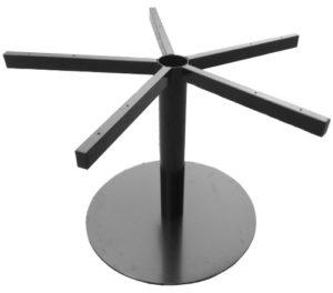 schijfframe tafelonderstel zwart