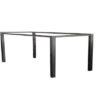 tafelonderstel frame zwart