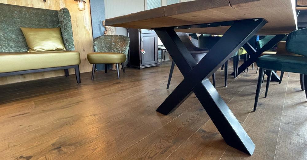 Stalen tafelonderstel
